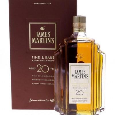 JAMES MARTIN'S 20 ANOS COM ESTOJO
