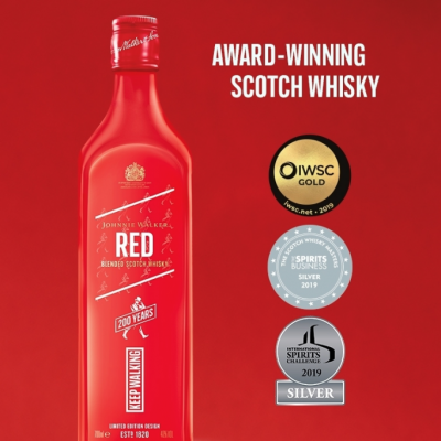 JOHNNIE WALKER RED LABEL LIMITED EDITION 200 ANOS