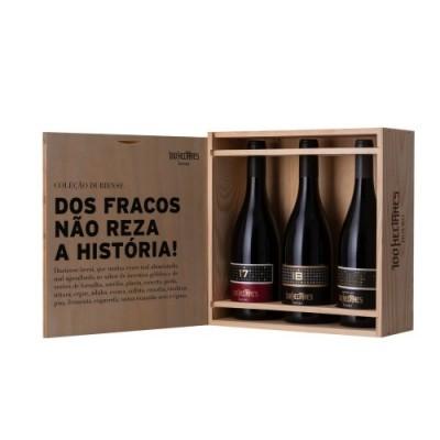 PACK 3 GRFS 100 HECTARES DOS FRACOS NÃO REZA A HISTÓRIA