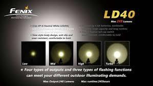 Lanterna Fénix LD40