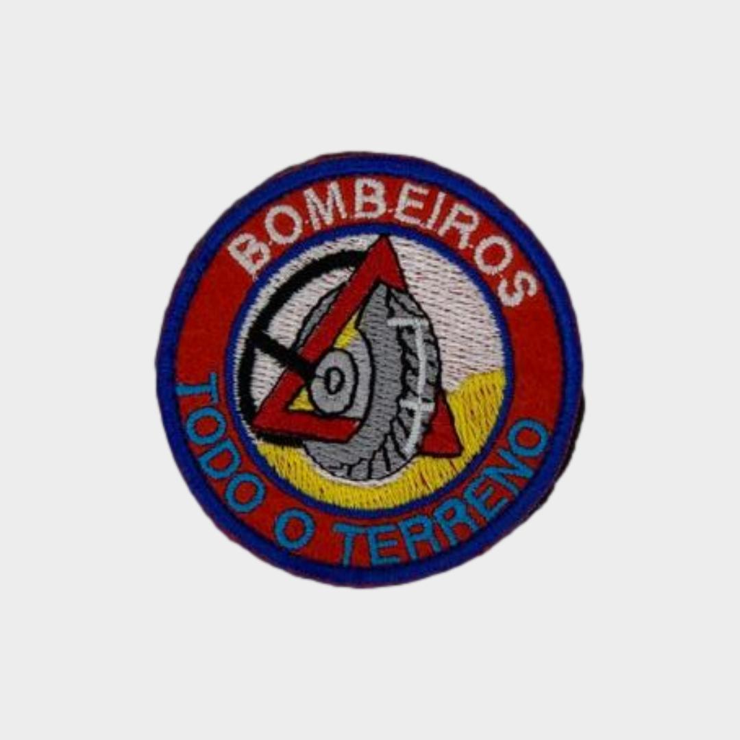Bolacha Bombeiro Bordada