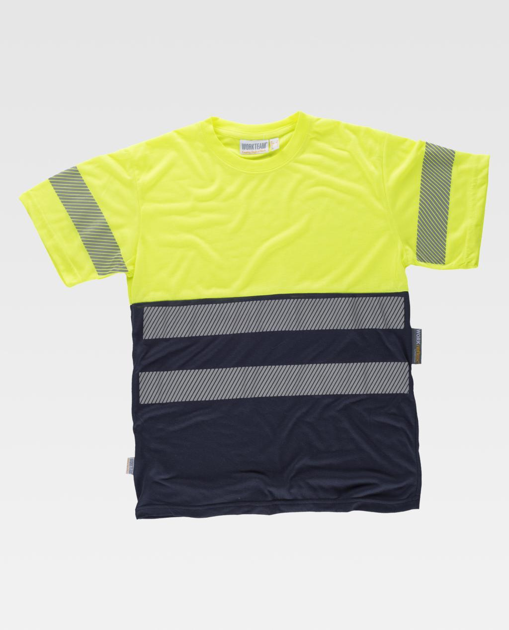T-Shirt W/T C6040 Alta Visibilidade