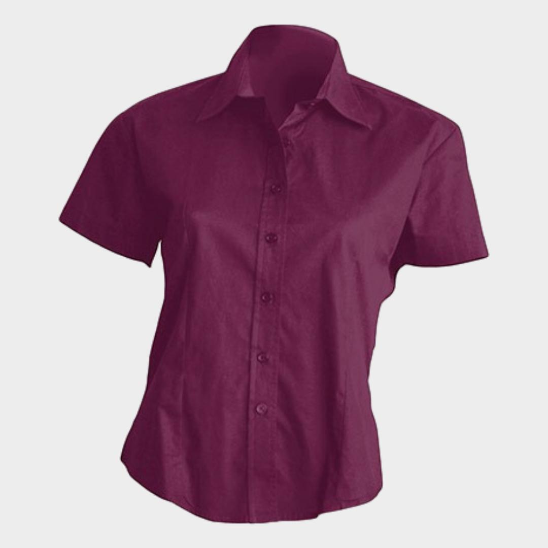 Camisa POPLIN Senhora M/Curta
