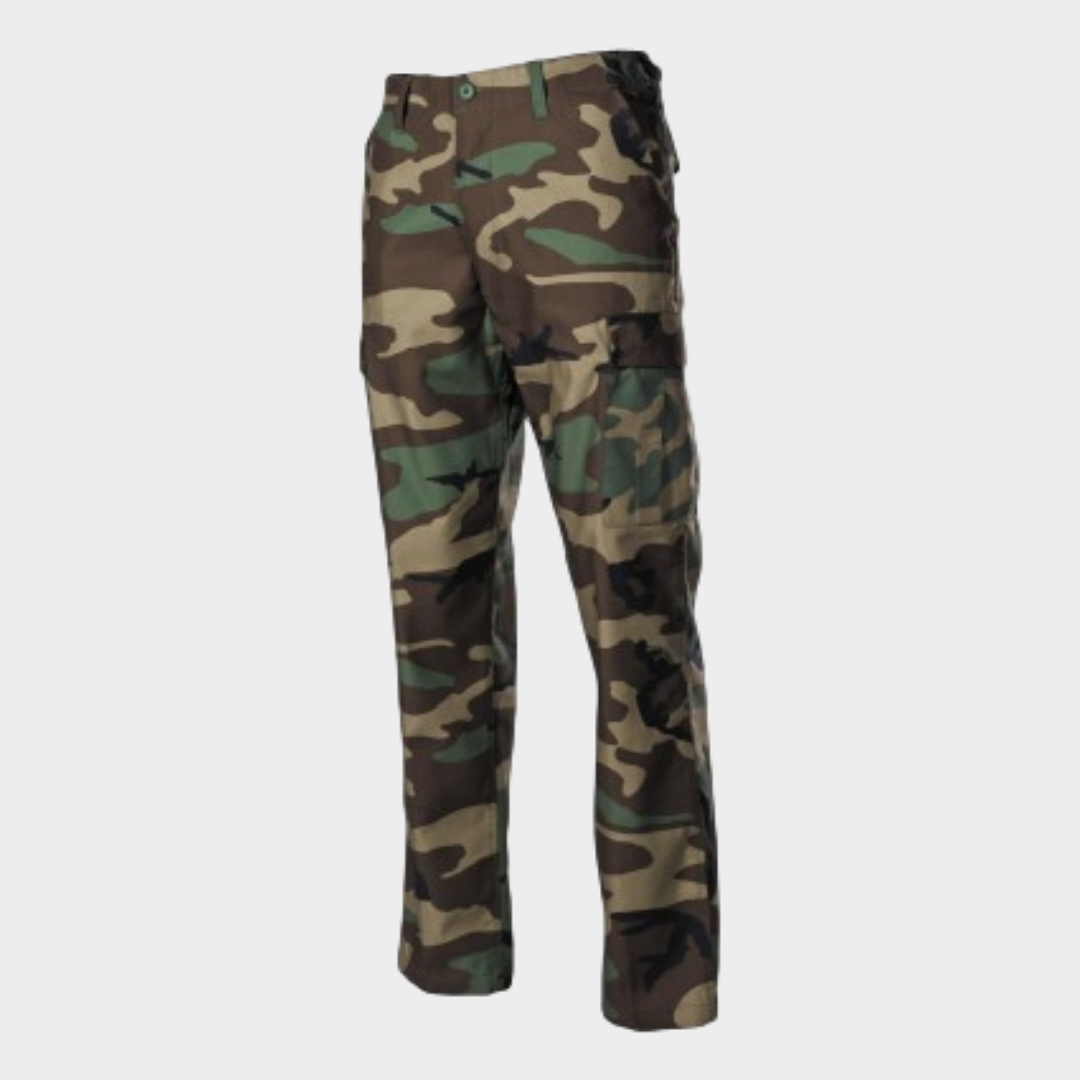 Calça MFH BDU RipStop Camufladas