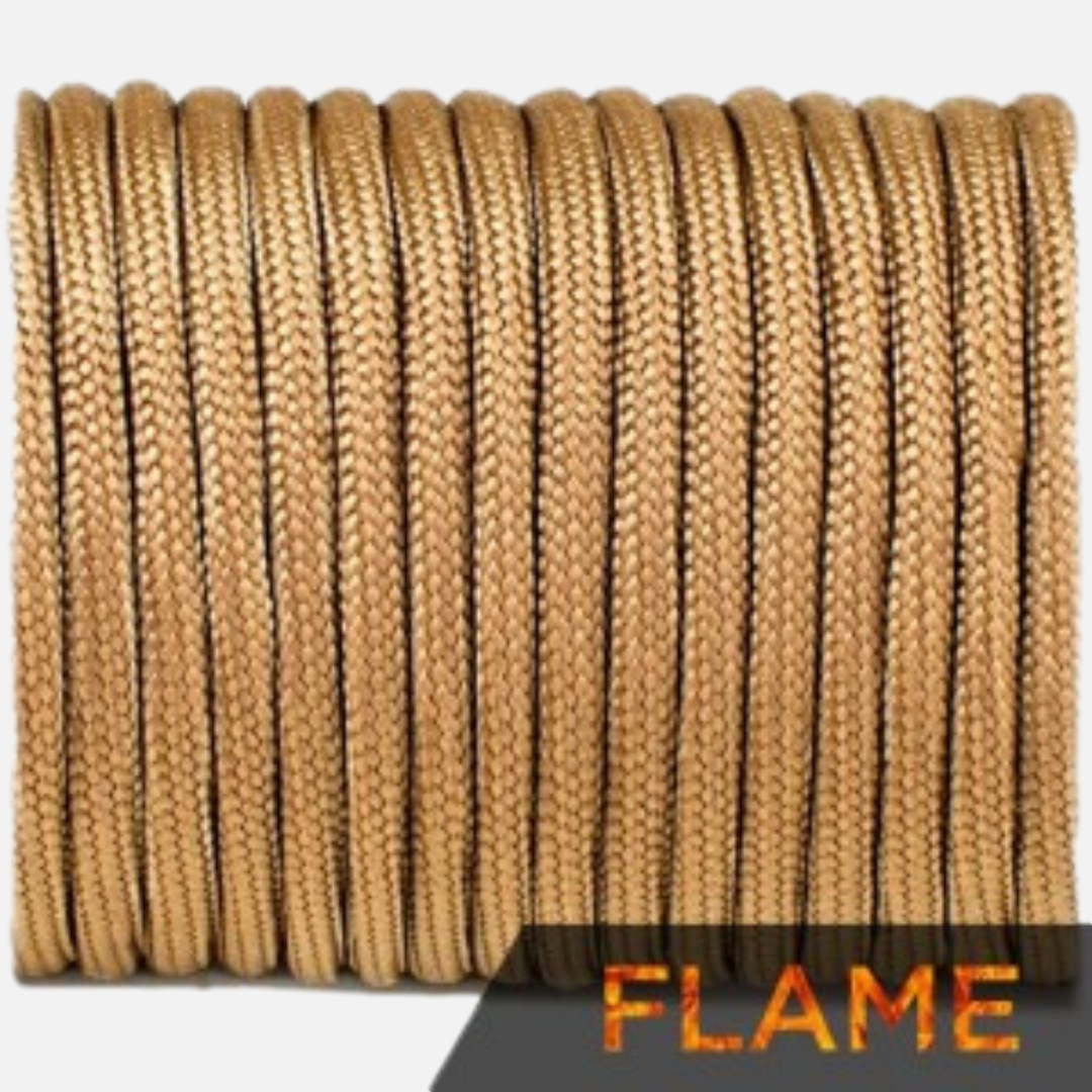 Flame cord, coyote brown #012-F
