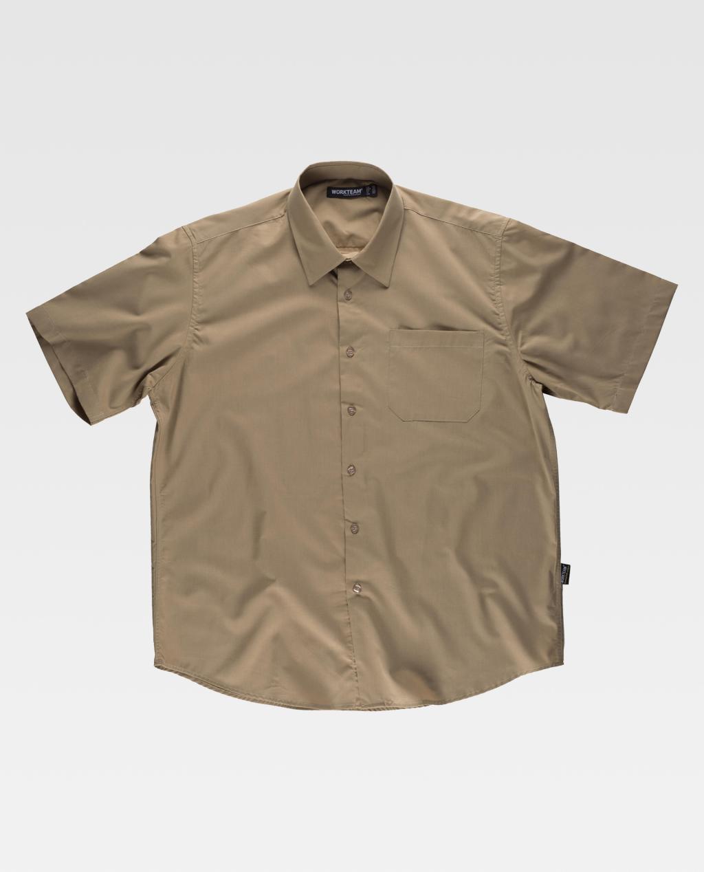 Camisa W/T B8100 Popeline