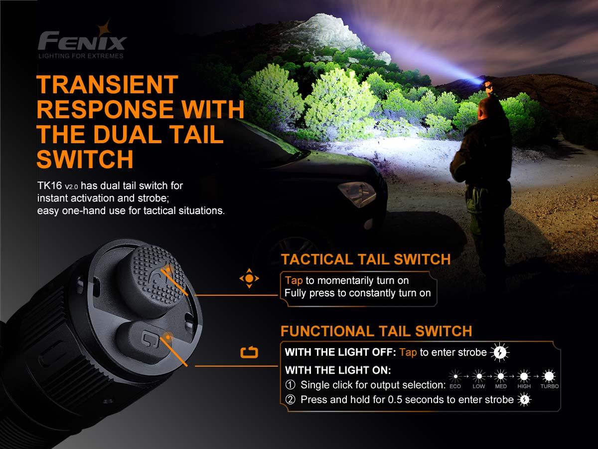 Lanterna FENIX TK16 V2.0