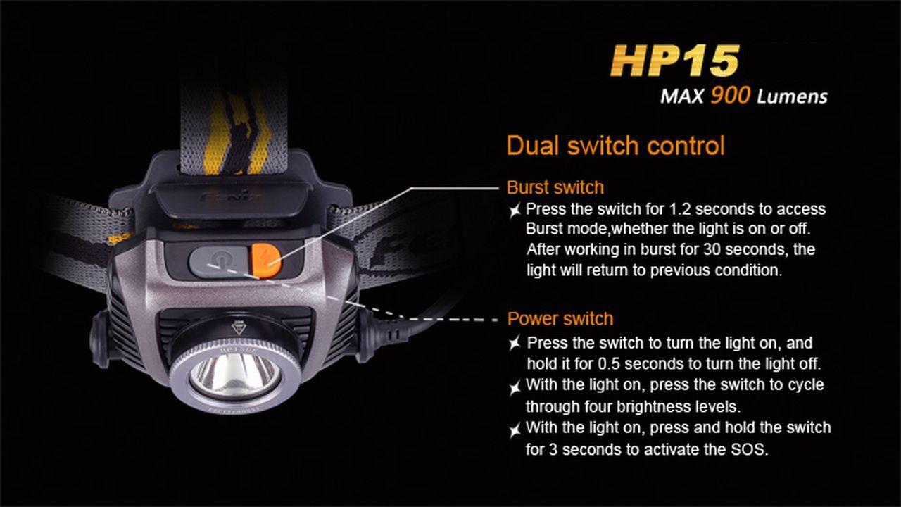 Lanterna Fénix HP15