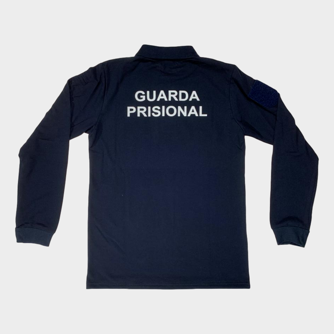 Polo Guarda Prisional M/Comprida