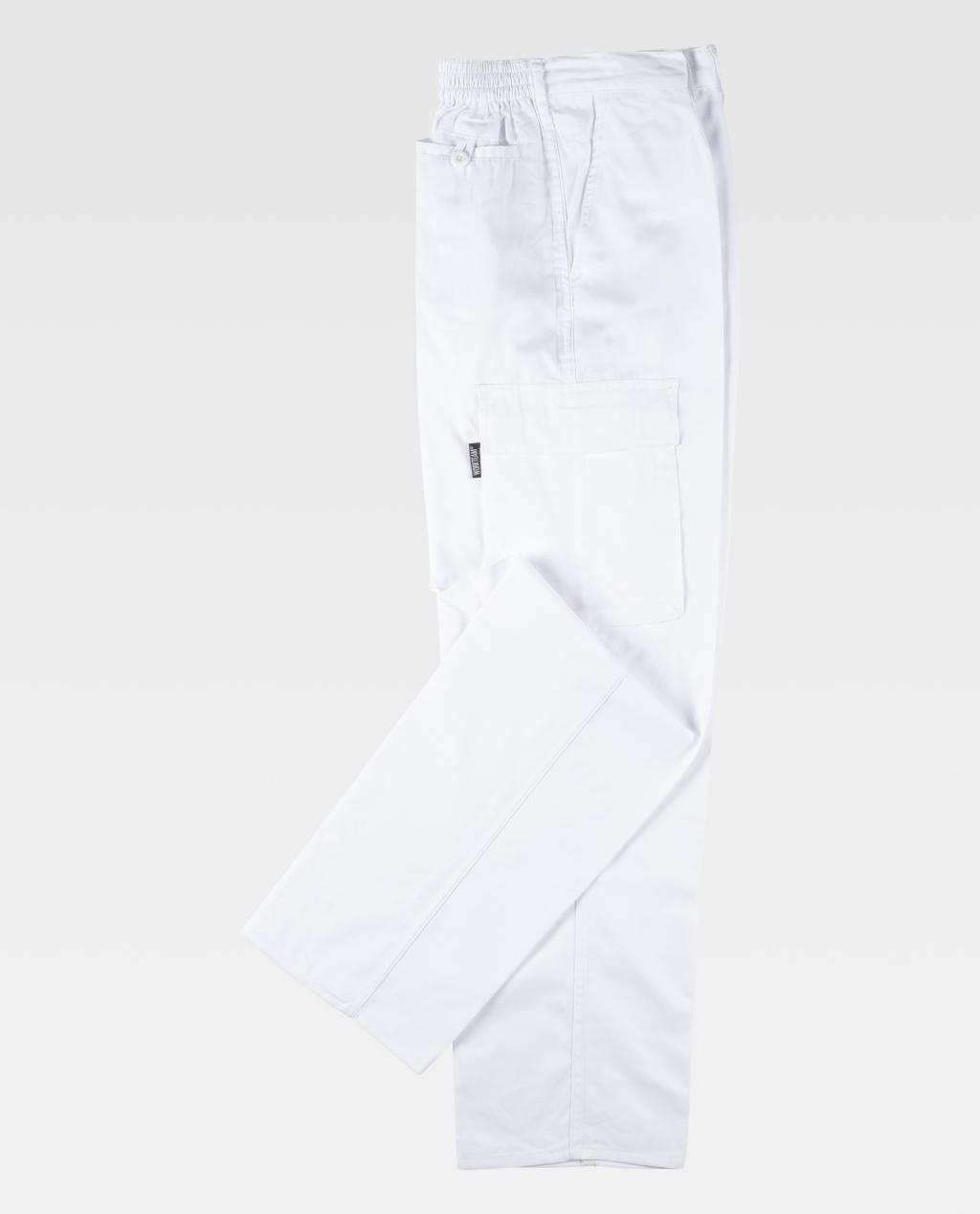 Calça W/T B1403 c/elástico Multibolsos