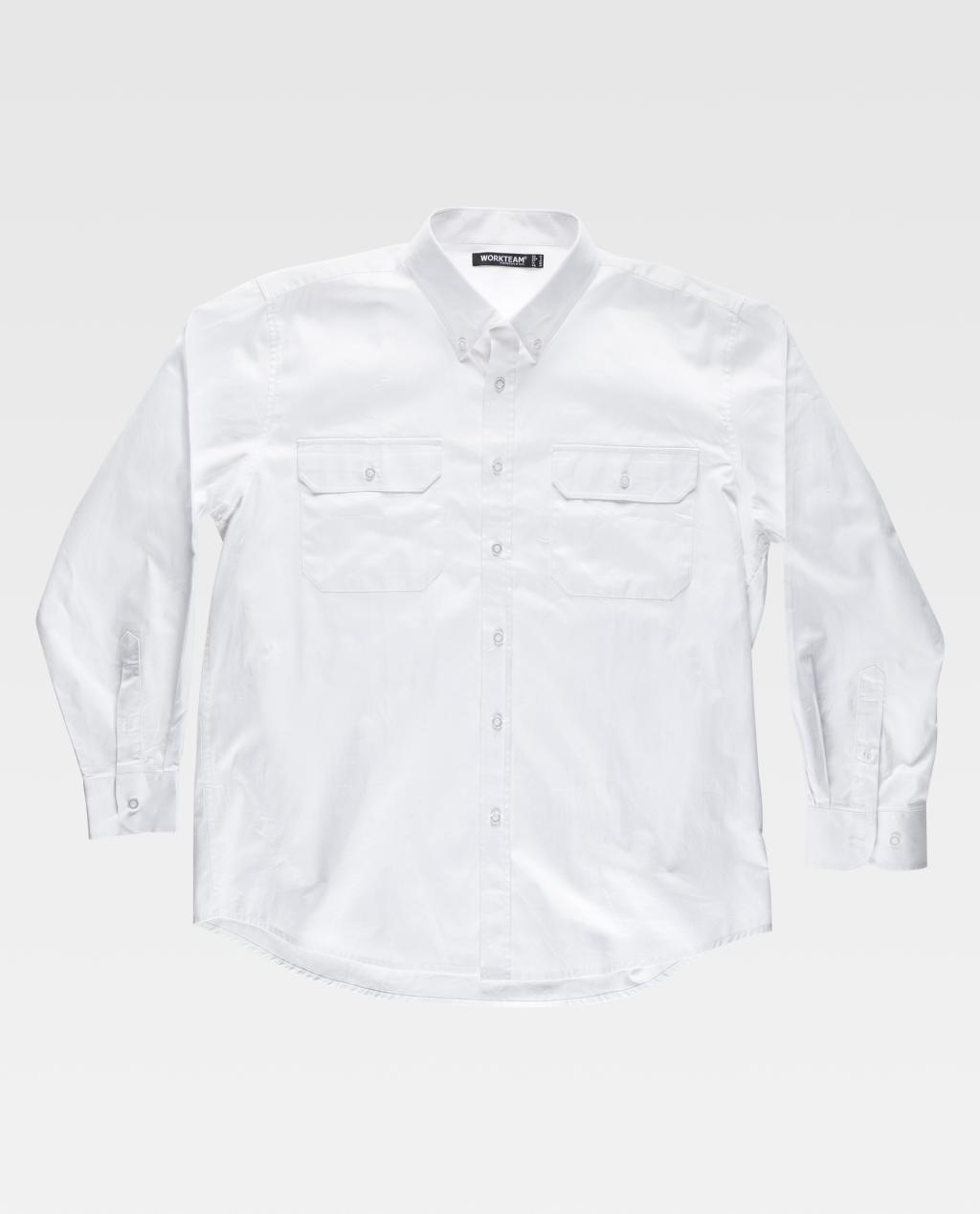 Camisa W/T M/Comp. Multi Bolsos