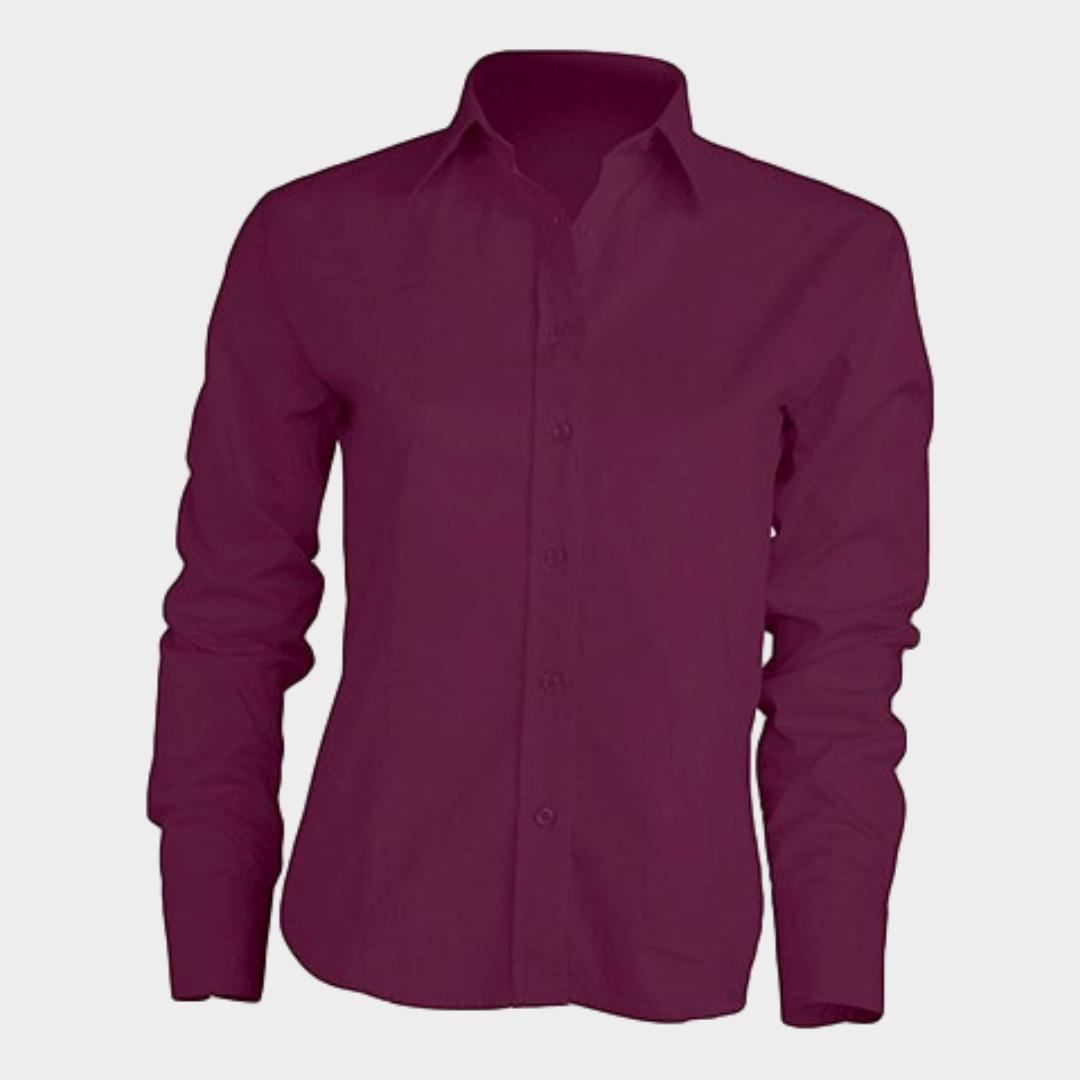 Camisa POPLIN Senhora M/Comprida