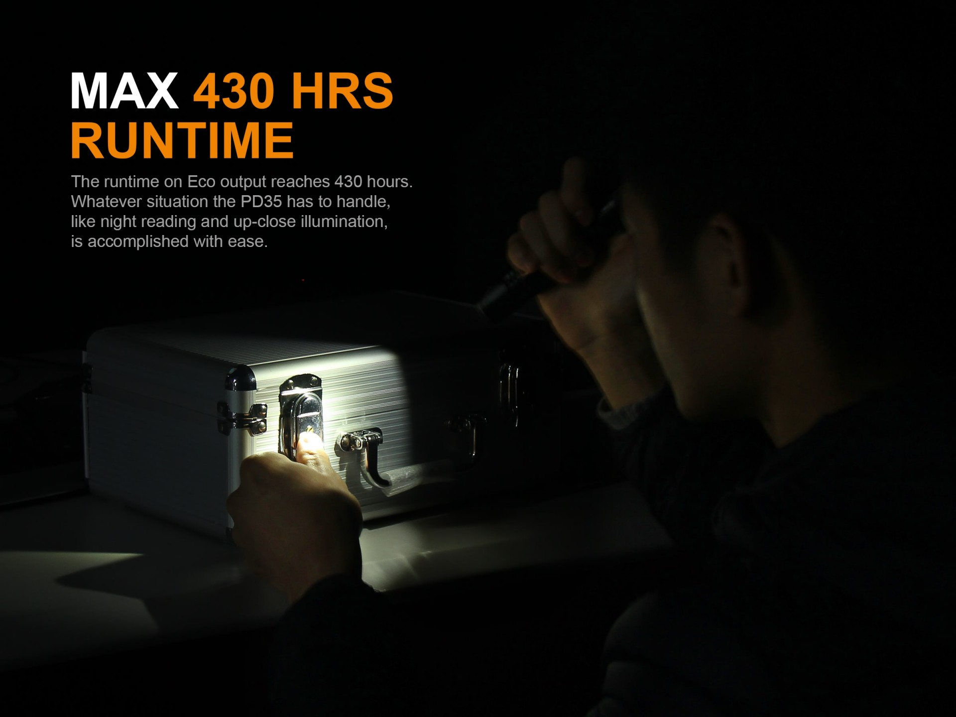 Lanterna Fénix PD35 V2.0