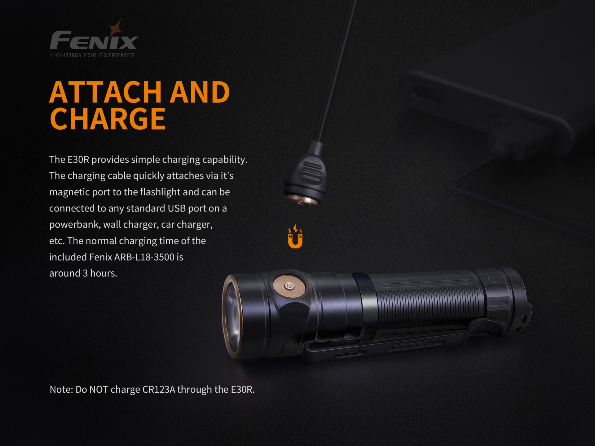 Lanterna Fénix E30R