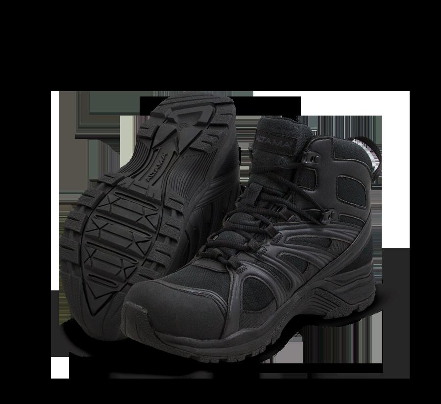 Altama Aboottabad Trail Mid WP Men's - Black