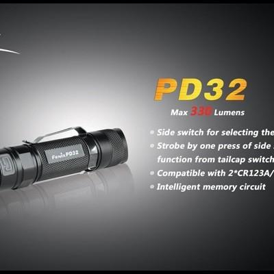 Lanterna Fénix PD32 330 Lumens