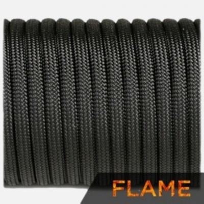 Flame cord, black #016-F