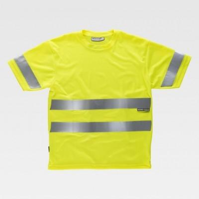 T-shirt W/T c/Faixas Refletoras