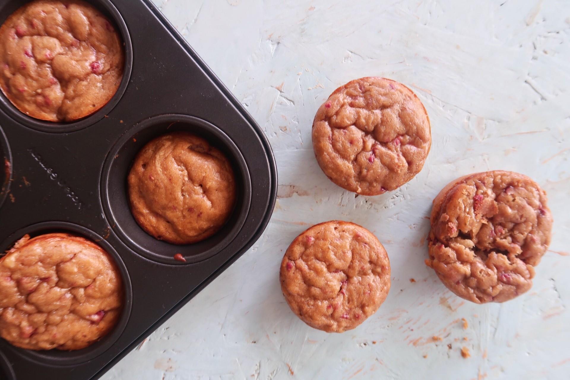 Muffins de Manteiga de Amêndoa