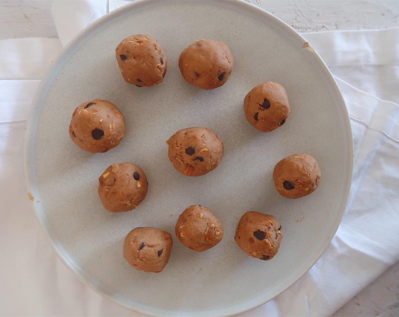 Bolinhas de cookie dough