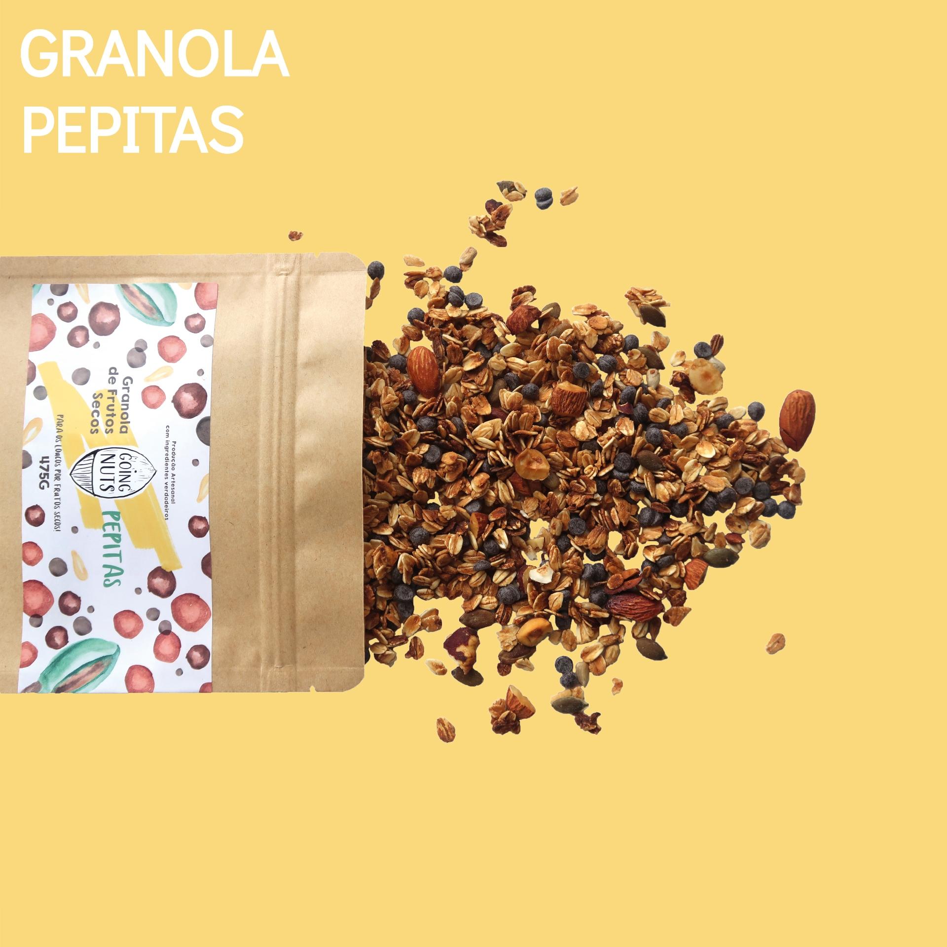 Granola Pepitas   475G