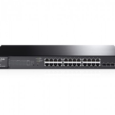 Switch POE TP-Link 24port. Gigabit POE+SmartSwitch GigabitRJ45 - T1600G-28PS