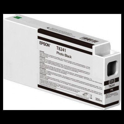 Tinteiro EPSON T8241 Preto Foto UltraChrome HDX/HD 350ml - SureColor SC-P6000/7000/8000/9000