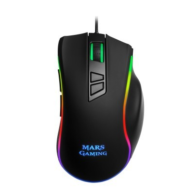 Rato MARS GAMING, 24000DPI, Chroma RGB, OMRON Switches - MM318