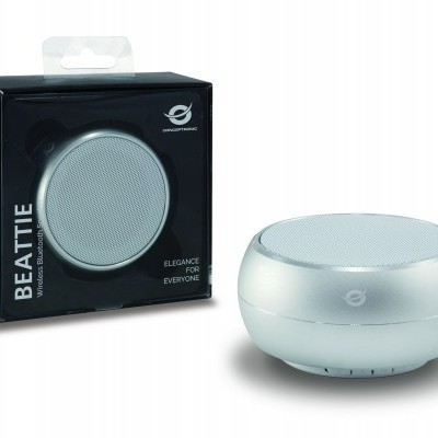 Coluna CONCEPTRONIC Wireless Bluetooth BEATTIE Branco