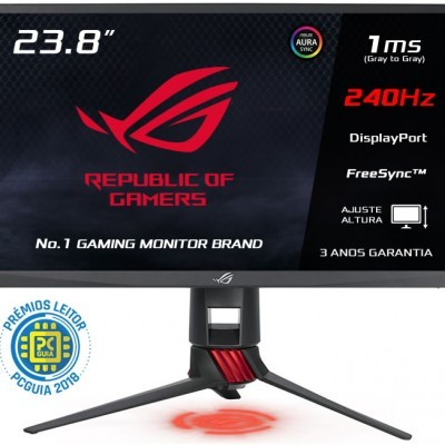 Monitor ASUS 24 (23.8) Wide FHD 1920x1080,eSport Gaming,1ms,2xHDMI/DP,2xUSB3.0 -ROG STRIX XG248Q