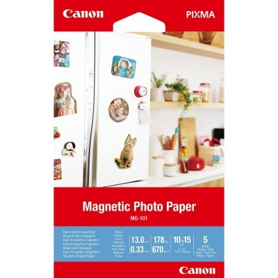 Magnetic Photo Paper MG-101 4x6 - 5 folhas - 3634C002