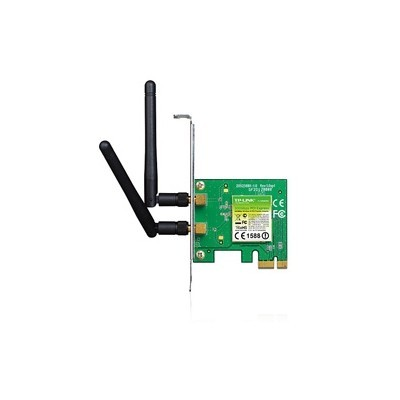 Placa Rede PCIe Wireless TP-Link 300Mbps - TL-WN881ND
