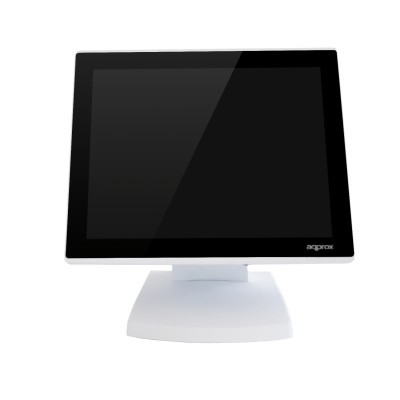 "POS APPROX Compacto 15"" Touch Capacitivo 4GB/64GB SSD C/Visor Cliente - Branco"""