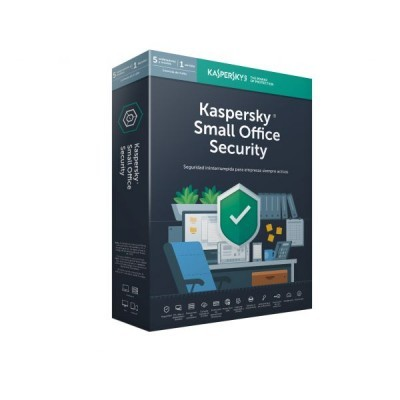 Kaspersky Small Office Security for 5-Mob device  5-Desktop  1-FS  1 year Base Lic. Pack