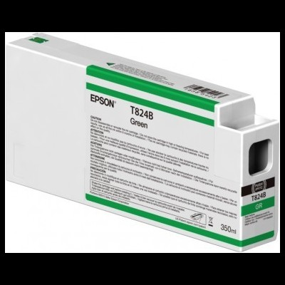 Tinteiro EPSON T824B Verde UltraChrome HDX 350ml - SureColor SC-P7000/9000