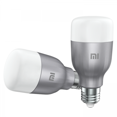 Mi LED Xiaomi Smart Bulb White and Color 2-Pack