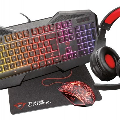 Kit TRUST Gaming GXT1180RW 4-IN-1 - 23605