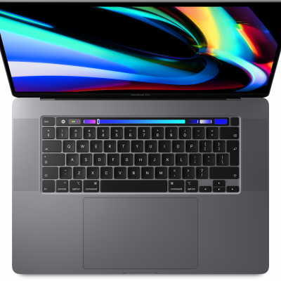Apple MacBook Pro 16P with Touch Bar: 2.6GHz 6-core 9th-Gen. i7 512GB - Space Grey