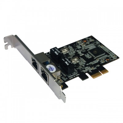 Placa Tsunami Dual Gigabit PCIe network card