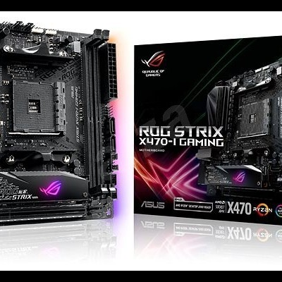 MB ASUS AMD X470 SK AM4 2DDR4/2xUSB - ROG STRIX X470-I GAMING