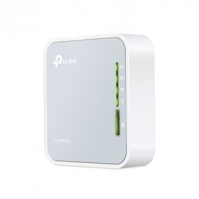 Router TP-Link AC750 Dual Band Wireless Mini Pocket 300Mbps, 3G/4G supported - TL-WR902AC