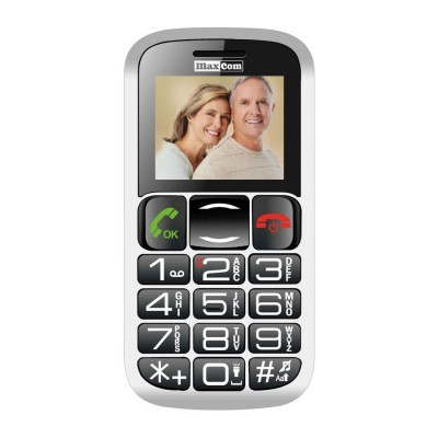 "Telemovel Maxcom Comfort MM462 1,8"" Single SIM 2G Preto"""