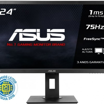 Monitor ASUS 24 Wide FHD, VP248HL, 1920x1080, Gaming, 1ms, D-SUB/HDMI