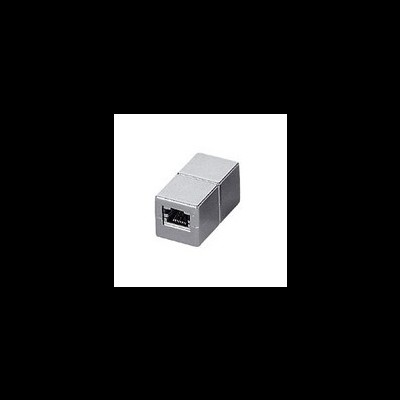 Acoplador EQUIP RJ45 F/F Cat.6 full shielded - 121169