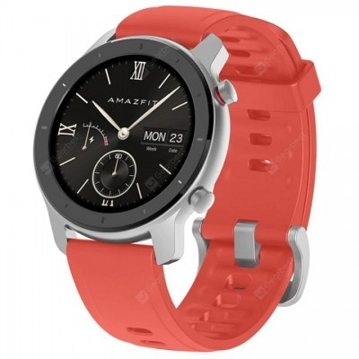 Smartwatch AMAZFIT GTR 42 mm Coral Red
