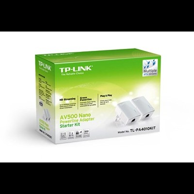 Kit 2 NanoAdap. PowerLine TP-Link 500Mbps Ethernet-TL-PA4010
