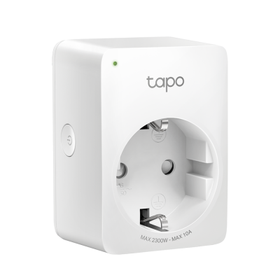 Tomada TP-LINK WiFi Smart Smart Home Live Remoto Tapo app - Tapo P100