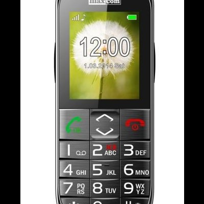 "Telemovel Maxcom Comfort MM720 2,2"" Single SIM 2G Preto"""