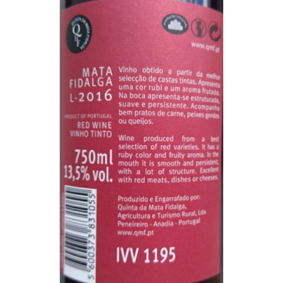 QMF Selection Tinto (GWD)