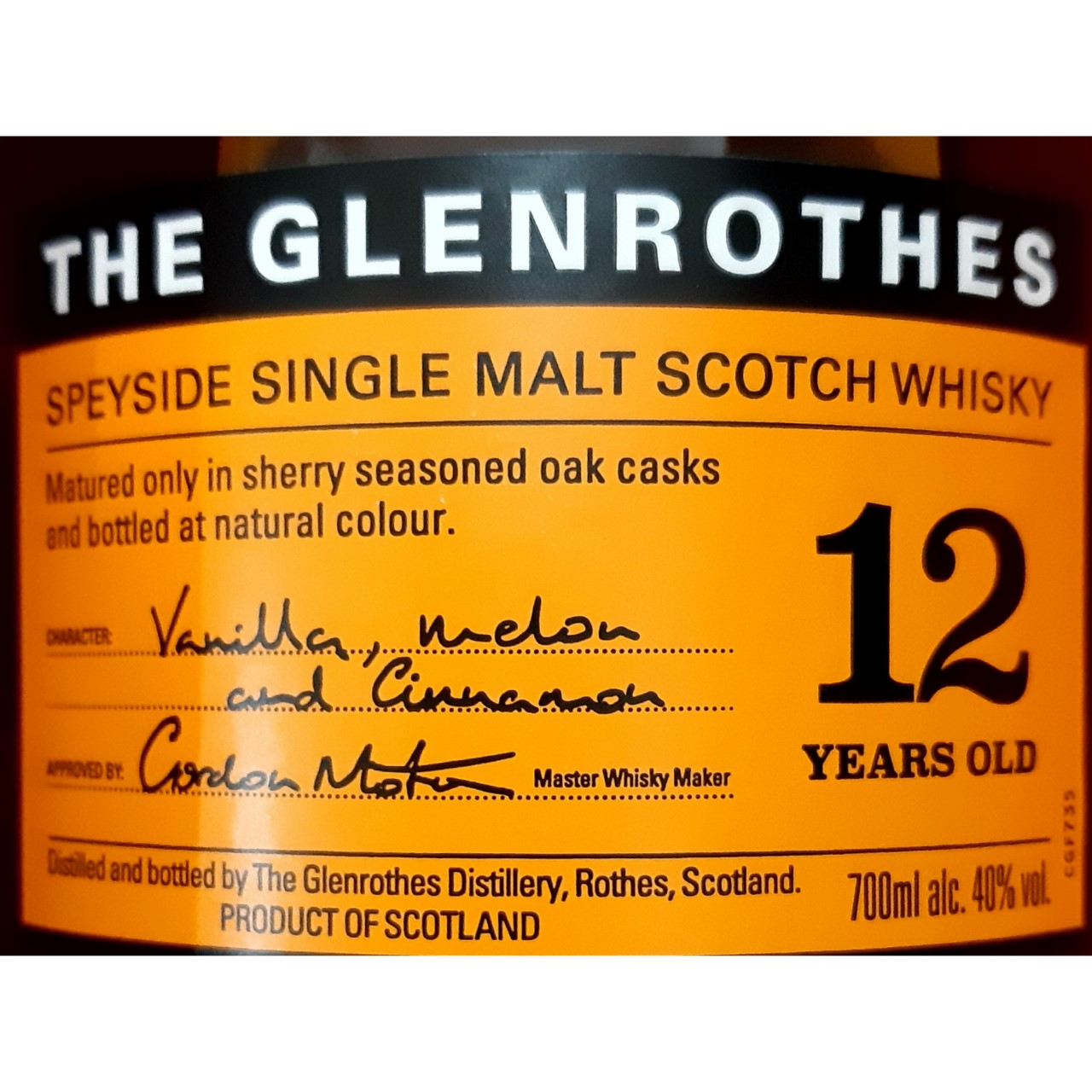 The Glenrothes 12 anos